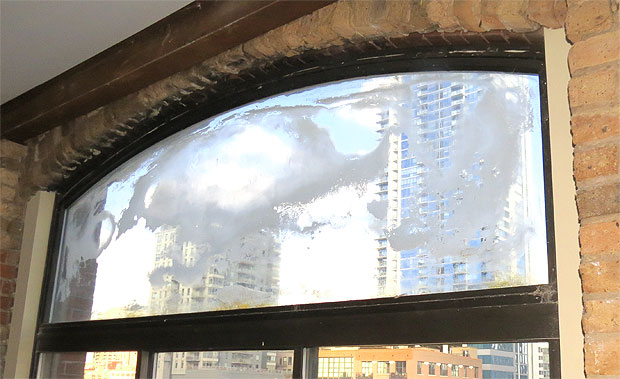 Window condensation between panes is seal failure. Foggy windows are caused by failure of the seal around the glass edge