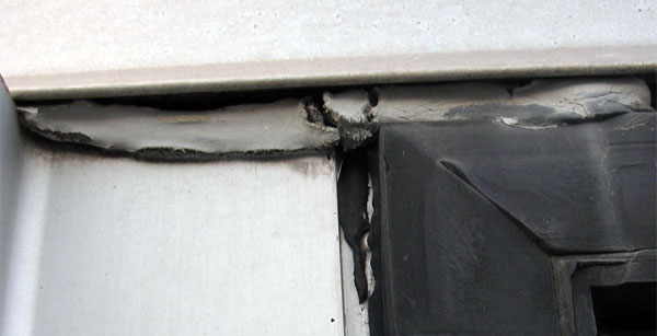 When a rupture occurs within the sealant itself, this is called cohesive caulk failure