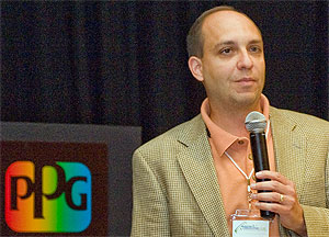 Rob Struble is Manager, Business Communications, PPG Performance Glazings