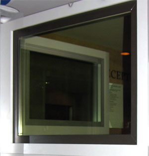 Electrochromic glass is an electronically tintable glass that can be switched from clear to dark with the push of a button