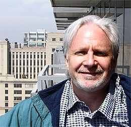 Mark Meshulam, Chicago Window Expert, ready to jump... to help you with your building.