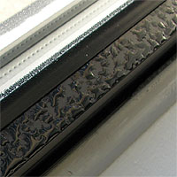 Window condensation on aluminum window
