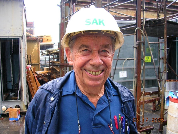 "A.A. ""Sak"" Sahknovsky, a pioneer of window testing and building envelope testing"