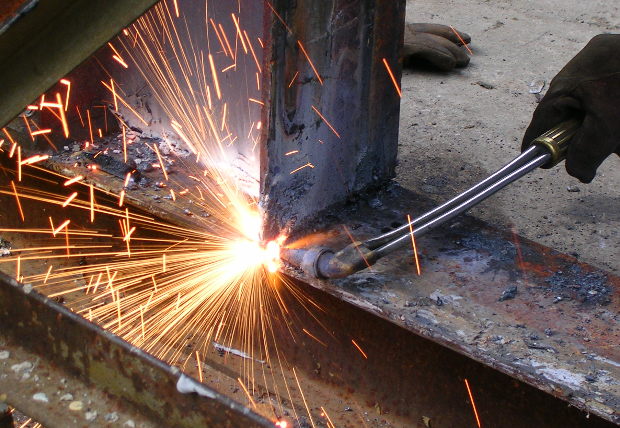 Structural steel is used again and again to make each custom-configured chamber