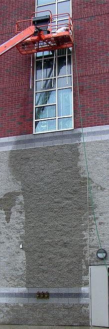 Window test - water penetration