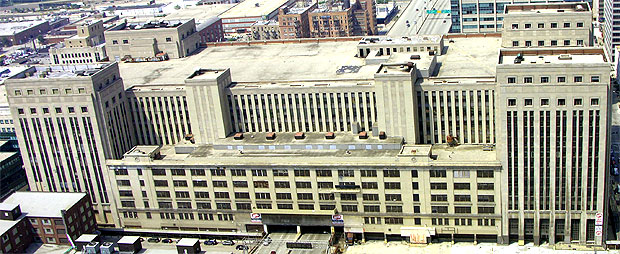 Old Main Post Office Chicago