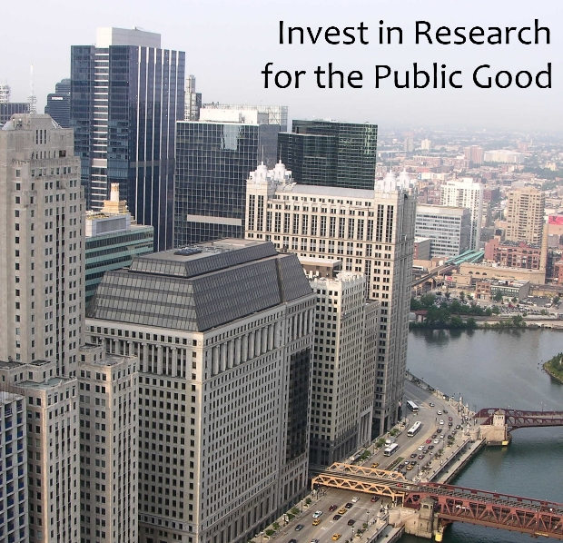 Invest in research for the public good