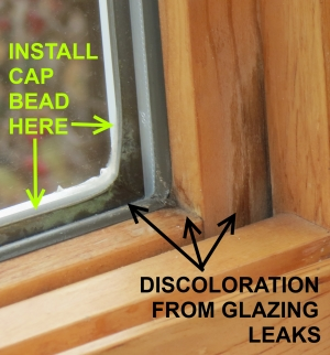Window glazing leaks bring too much air infiltration into the building while also allowing water which can damage the window and glass.