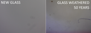 weathered glass comparison