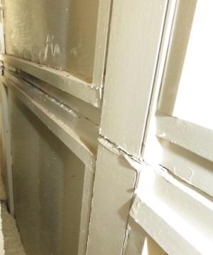Hilberling apartment curtainwall interior