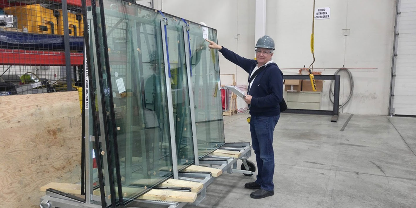 Forensic investigation of construction glass