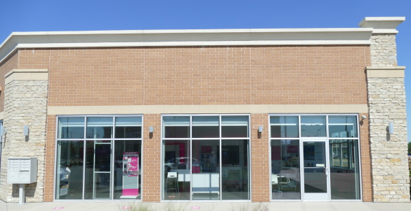 Cell phone stores are early adopters of polycarbonate overglazing systems
