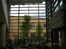 Curtainwall interior view